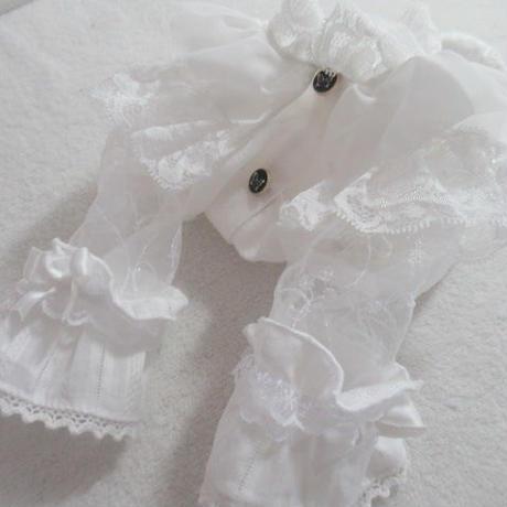 シースルーお袖の素敵なブラウス^^
