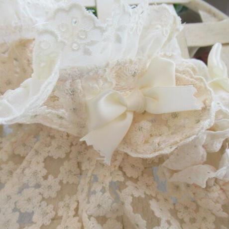 小花刺繍オーガンジーのかわいいパーカー^^
