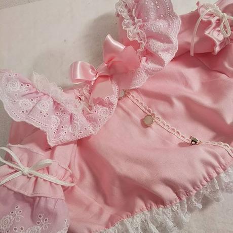 パステル薔薇刺繍レースの素敵なブラウス^^