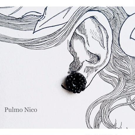 【受注生産】ビーズ刺繍の耳飾り《P-4》
