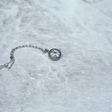 3月誕生石 プラチナアクアマリン 6mmサイズ
