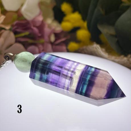 フローライト 香水瓶 シルバー