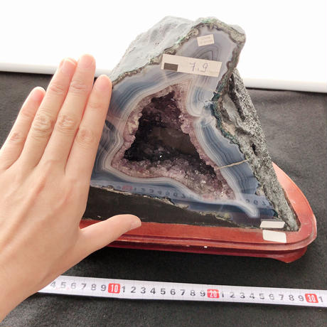 【送料込】アメジストドーム晶洞7.9kg