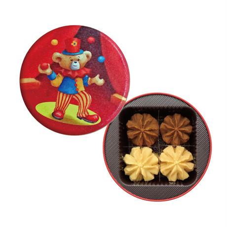 ジェニーベーカリー クッキー詰合せ2種ミニ缶