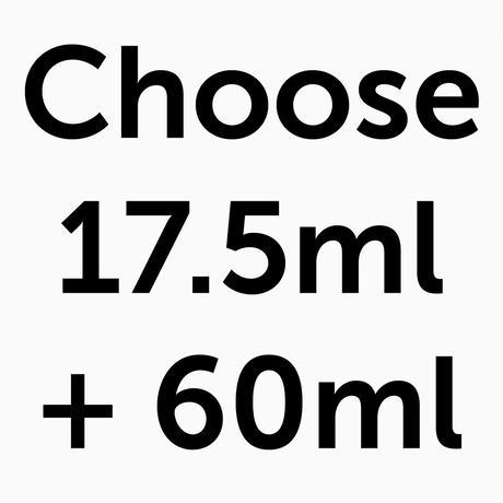 Winter Specials 2020 | Choose 17.5ml + 60ml