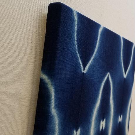 渡辺洋美 本藍染壁掛 『雲母』