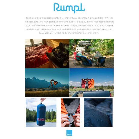 RUMPL ORIGINAL POLER PUFFY BLANKET Deepwater
