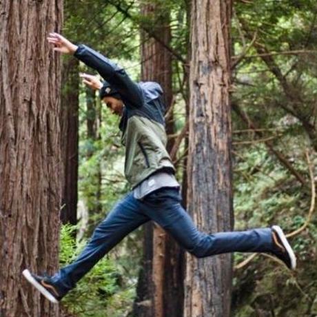 HIPPY TREE SADDLEBACK WINDBREAKER Asphalt