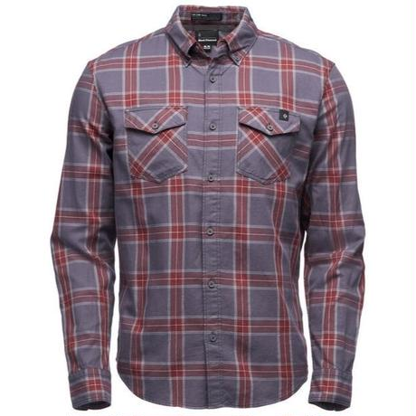 BLACK DIAMOND LONG SLEEVE BENCHMARK SHIRT MENS Red Oxide