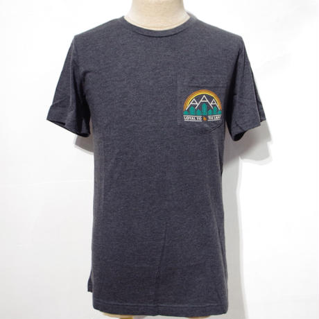 HIPPY TREE CRESTPOINT TEE Heather Charcoal
