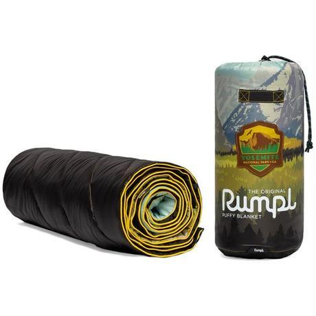 RUMPL ORIGINAL PUFFY BLANKET Rocky Mountains