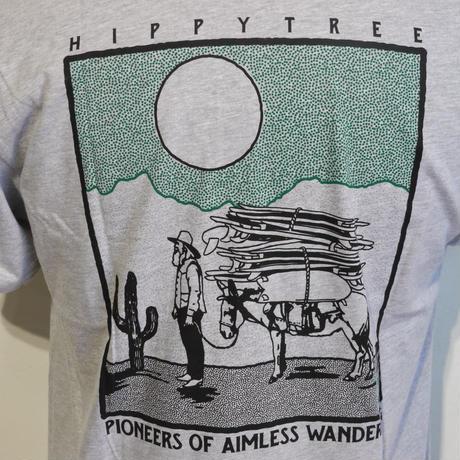 HIPPY TREE PROSPECTOR TEE Heather Grey