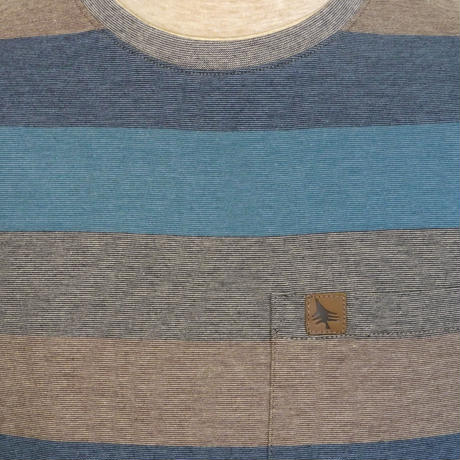 HIPPY TREE RIVERTON KNIT TEE Heather Blue