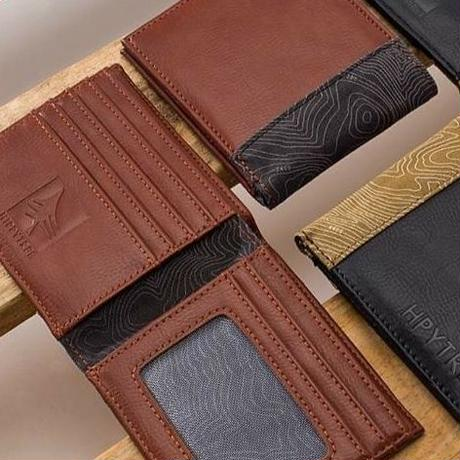 HIPPY TREE TOPO WALLET BROWN