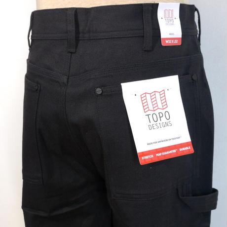 TOPO DESIGNS CARPENTER PANTS Black