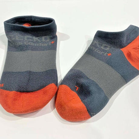 GECKKO Boulder Sock Grey X Orange