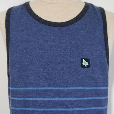HIPPY TREE MENDO TANK Heather Navy