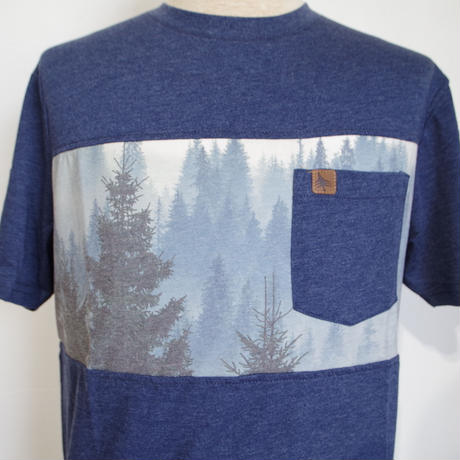 HIPPY TREE PINECREST TEE Heather Navy