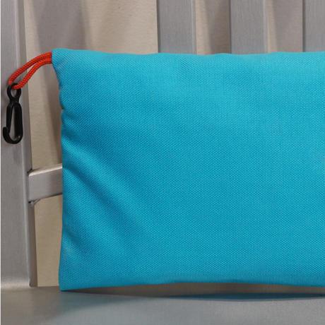 ORGANIC CLIMBING Big Diffy Bag Turquoise x Red