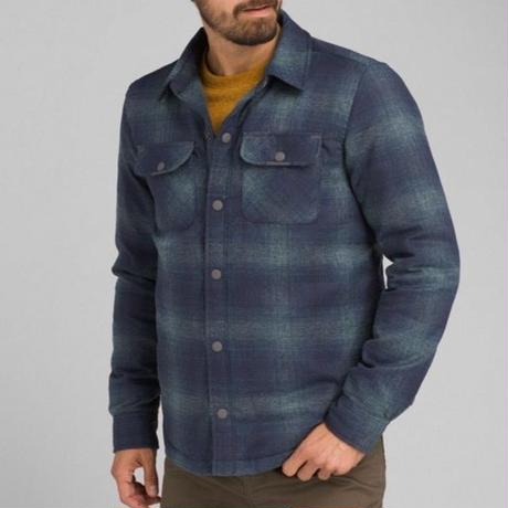 PRANA Showdown Jacket Grey Blue