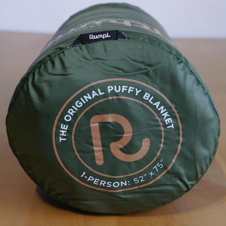 RUMPL ORIGINAL PUFFY BLANKET  Cypress