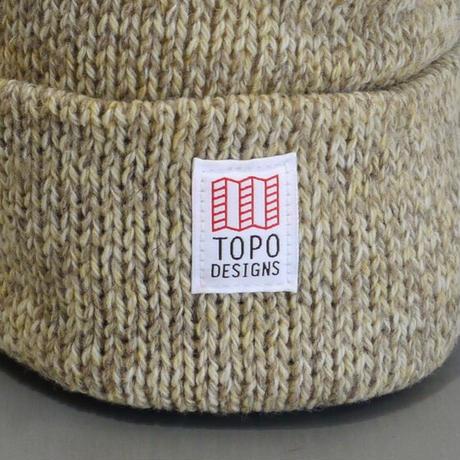 TOPO DESIGNS RAGG CAP Oatmeal