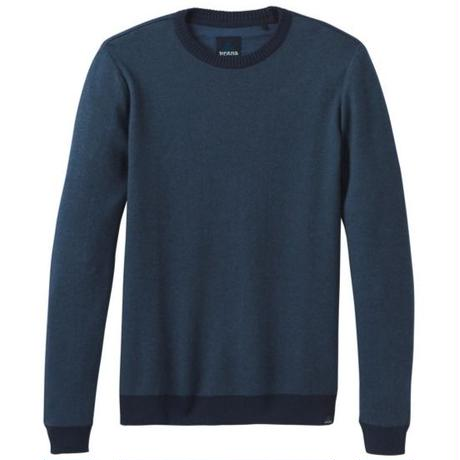 PRANA Vertawn Sweater Blue Note Heather