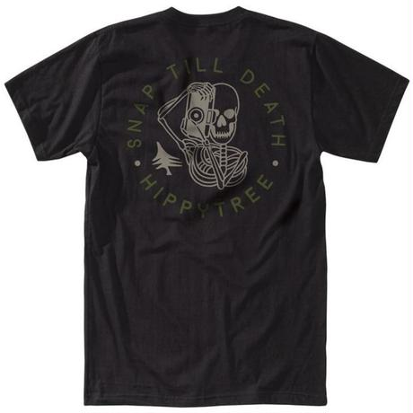 HIPPY TREE SNAPPER TEE Black