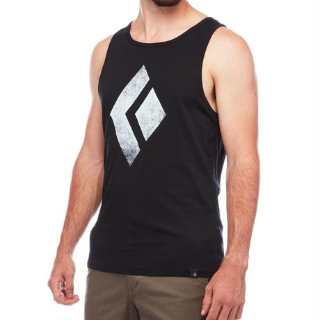 BLACK DIAMOND CHALKED UP TANK MENS Black