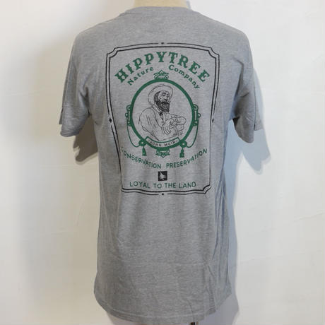 HIPPY TREE NATURALIST ECO TEE Heather Grey