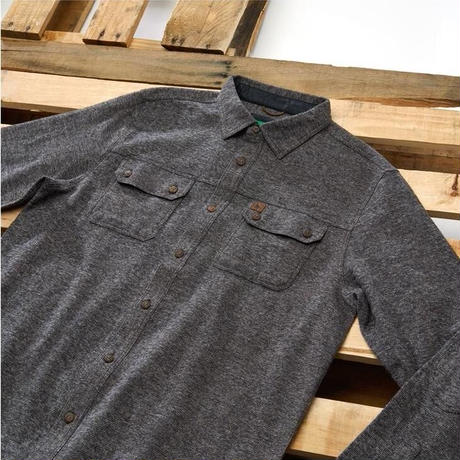 HIPPY TREE SERRANO FLANNEL Charcoal