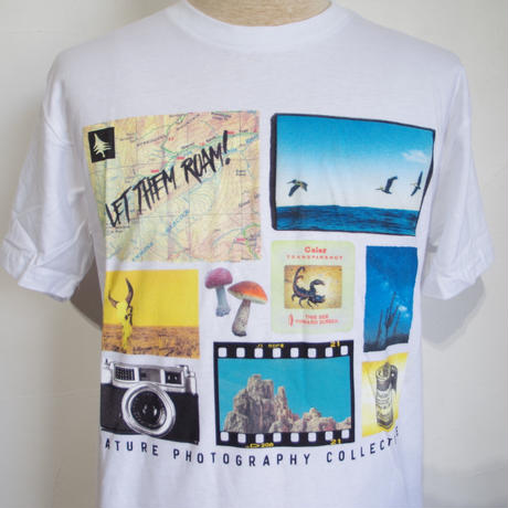 HIPPY TREE COMPOSITE TEE White