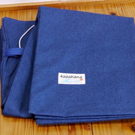 KAZAHANA SLAP SHEET Ink Blue