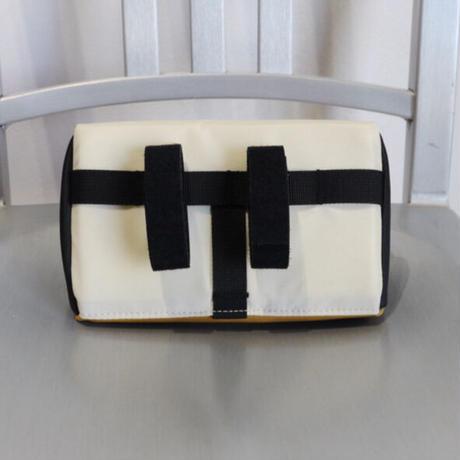 TOPO DESIGNS MINI BIKE BAG Bone White/Khaki