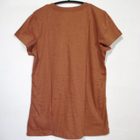 PRANA Womens Climbing Tee Caramel Heather