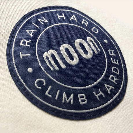 MOON CLIMBING  Mens Block T-Shirt  Indigo/Stone/Red