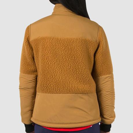 TOPO DESIGNS SUBALPINE FLEECE - WOMEN'S Khaki