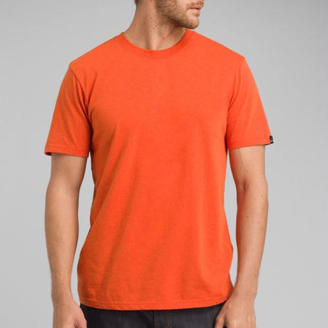 PRANA Crew Neck T-Shirt Koi Heather