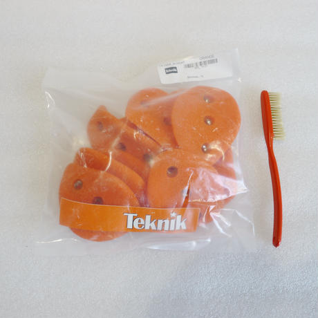 TEKNIK HAND HOLDS Screw On Flaps Orange