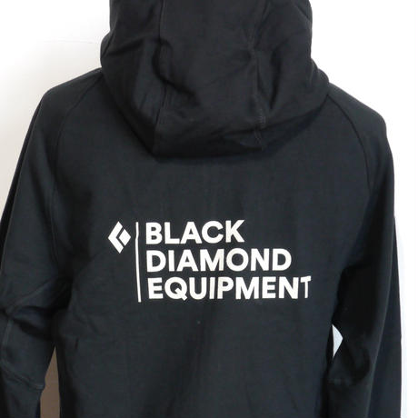 BLACK DIAMOND STACKED FULL ZIP HOODY Black