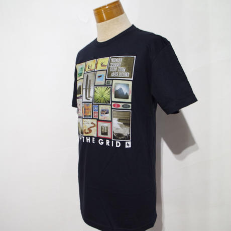 HIPPY TREE COLLAGE TEE Black