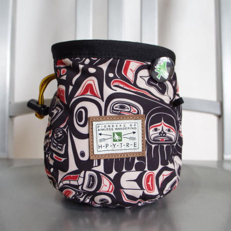 HIPPY TREE RAVEN CHALK BAG