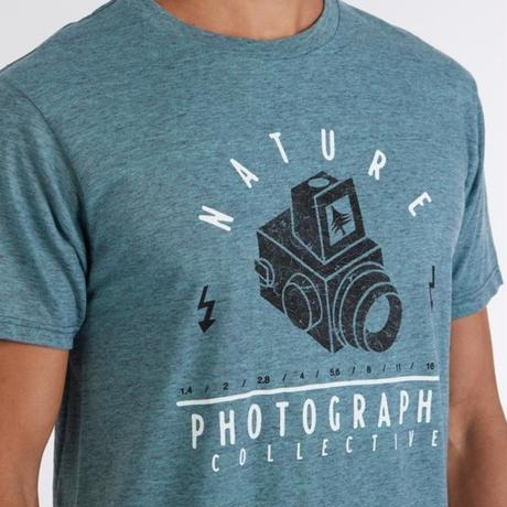 HIPPY TREE TOPOGRAPHY TEE Heather Teal