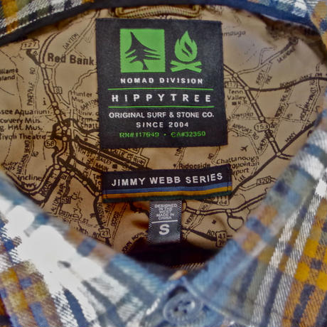 HIPPY TREE JIMMY WEBB SERIES SIGNAL FLANNEL Black