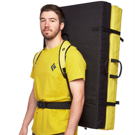 BLACK DIAMOND CIRCUIT CRASH PAD Black/Lemon Grass