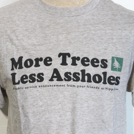 HIPPY TREE MORE TREES TEE Heather Natural