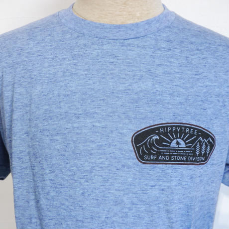 HIPPY TREE DAYBREAK TEE Heather Light Blue