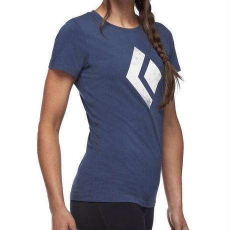 BLCK DIAMOND CHALK UP TEE WOMENS Ink Blue