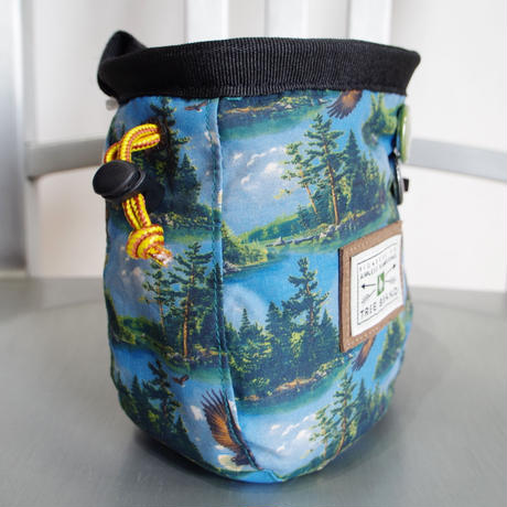 HIPPY TREE FREEDOM CHALK BAG Black