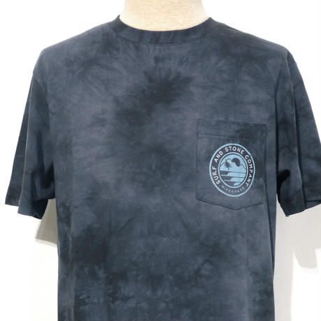 HIPPY TREE TACOMA CLOUD WASH TEE Asphalt